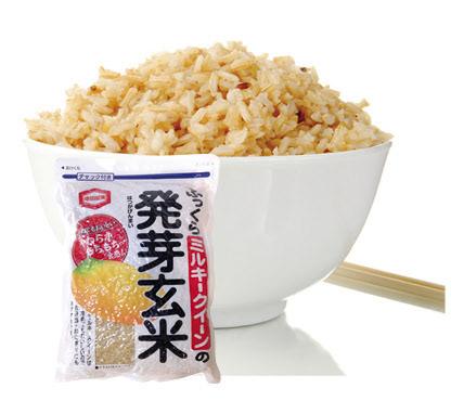 亀田製菓 ふっくらミルキークイーンの発芽玄米 S$13.60
