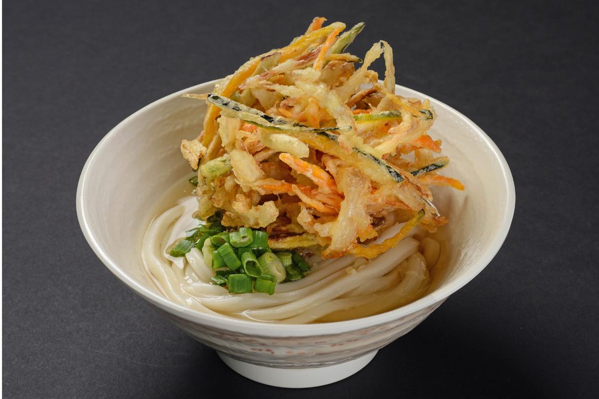 (20)kakiage udon