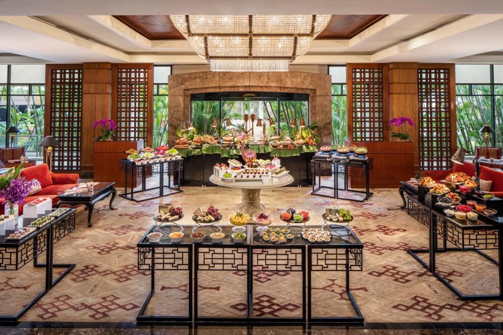 Regent Singapore, A Four Seasons Hotel_Tea Lounge_Weekend High Tea Buffet_New