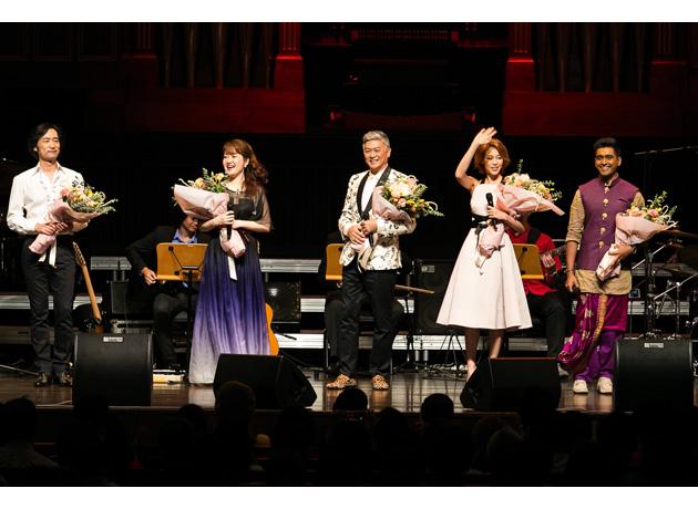 大きな拍手とともに幕を閉じたコンサート。出演者も客席も、シンガポールと日本への愛で満たされていた