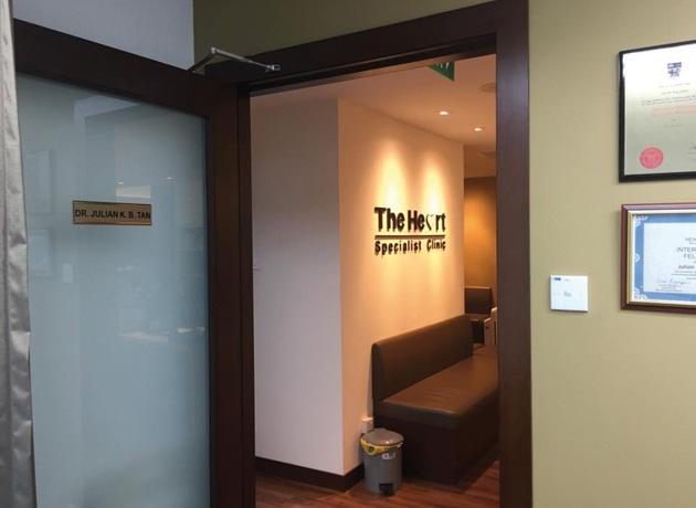 場所はマウントエリザベス・メディカルセンターの14階
