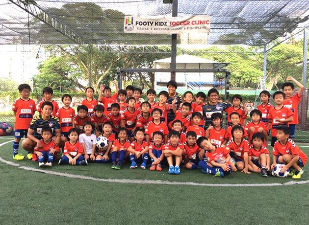 プロの選手やコーチが参加するイベントなどで、幼少のうちからプロの環境を身近に感じられるのが魅力