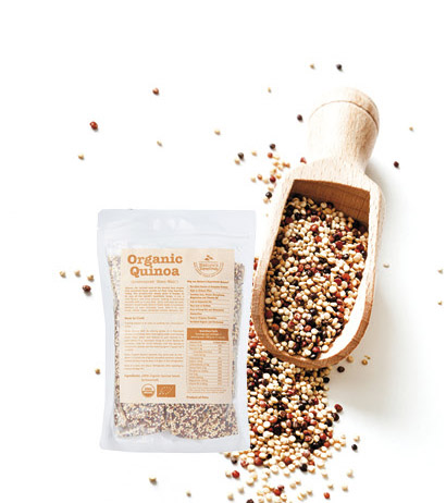 Nature's Superfoods Organic Tricolor Quinoa Seeds S$12.90