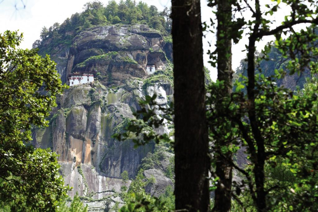 タクツァン僧院(3100m)