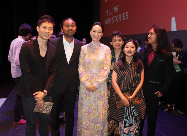 審査委員長として参加し、アジアの若手作品10 本を審査した。また、河瀨監督の作品5 作品も上映された