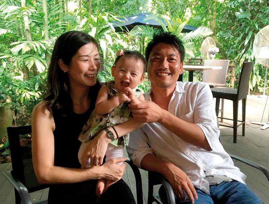 家族での外出で、大喜びの京香ちゃん