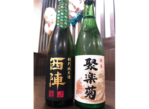 京料理との相性も抜群で、純米酒好きにはたまらない